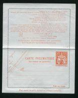 FRANCE  :   CARTE-PNEUMATIQUE  NEUVE   Y&T  N°  2618   CLPP  1 F 60 ,   A   VOIR . - Pneumatici