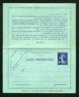 FRANCE  :   CARTE-PNEUMATIQUE  NEUVE   Y&T   CLPP  2 , 30  CTS ,   A   VOIR . - Pneumatici