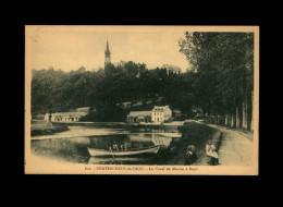 29 - CHATEAUNEUF-DU-FAOU - Canal De Nantes à Brest - Châteauneuf-du-Faou