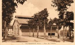 PLACE DES VOLAILLES...edit Laforgue..11 - Vic-Fezensac