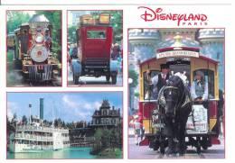 DISNEYLAND PARIS - Les Transports - Cheval - Horse - Disneyland