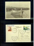 Slowenien / Slovenia 1998 Tartini On Postcard Travelled By Boat Scarce - Muziek