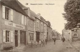 19 MASSERET - RUE PRINCIPALE ( CAFE CHARIERAS - ANIMEE ) - France