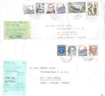 Slovensko Douane CLO 2 Covers To Finland - Brieven En Documenten