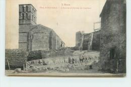 PUICHERIC  -  L'église Et Ruines Du Château. - France