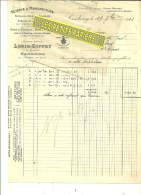 70 - Haute-saône - CEMBOING - Facture GIFFEY - Scierie - Manufacture De Semelles De Bois Pour Galoches – 1923 - France