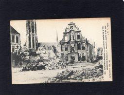 """47022    Belgio,   Malines,  ASpect D""""un Quartier De La Ville,  La  Guerre De 1914-15,  NV(scritta) - Mechelen"""