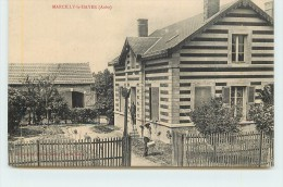 MARCILLY LE HAYER  - La Maison Du Barbier. - Marcilly