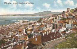 GIBRALTAR . A Bird's Eye View Of The Town - Gibraltar