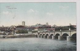 Lodi - Ponte Con Treno - 1916   (100831) - Lodi