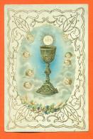 Image Pieuse Avec Ajout De Chromo - Angelots - Images Religieuses