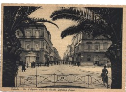 Taranto Via D'Aquino Vista Da Piazza Giordano Bruno - Taranto