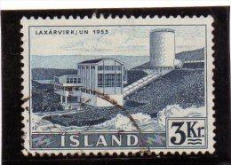 B - 1956 Islanda - Centrale Di Laxa - 1944-... Repubblica