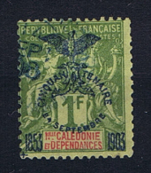 Nouvelle Calledonie: Yv. 80,  Used/obl  Signed/signé/signiert/ Approvato - Nieuw-Caledonië