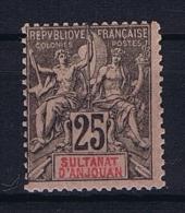 Anjouan: Yvert 8 MH/* - Anjouan (1892-1912)