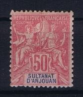 Anjouan: Yvert 11 MH/* - Unused Stamps