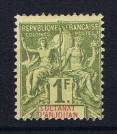 Anjouan: Yvert 13  MH/* - Unused Stamps