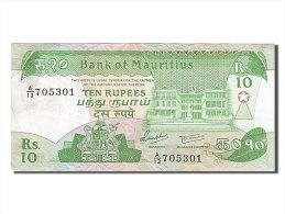 [#254895] Ile Maurice, 10 Rupees, Type 1985-1991 - Maurice