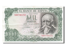 [#254917] Espagne, 1000 Pesetas, Type Jose Echegaray - [ 3] 1936-1975: Regime Van Franco