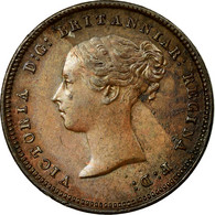Monnaie, Grande-Bretagne, Victoria, 1/2 Farthing, 1843, SUP, Cuivre, KM:738 - 1816-1901 : Frappes XIX° S.