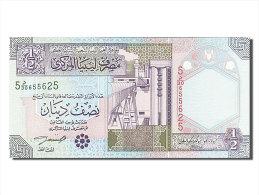 [#254950] Libye, 1/2 Dinar, Type 2002 - Libye