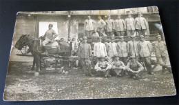 FOTO ORIGINALE -CARRO DA TRASPORTO FERITI ??? 1 GUERRA VENETO - Guerre, Militaire