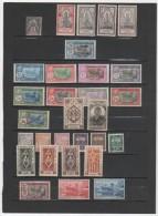FR.Etab. Français Dans L´Inde Lot Neuf** Sauf Les 3 Du Bas - India (1892-1954)