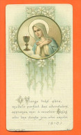 Image Pieuse  Chromo -  Premiere Communion - Images Religieuses
