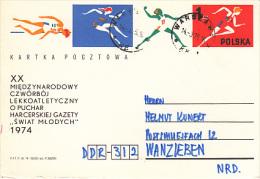 Poland Postcard, Sports  (Z-5048) - 1944-.... Republic