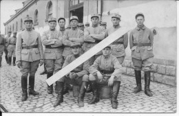 Metz Groupe De Soldats 1932 1carte Photo - War, Military