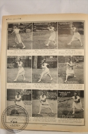 La Bibliotheque Très Sport, 1920s Magazine Supplement - Tennis - Old Pictures Of Suzanne Lenglen - 20 Pages - Libros, Revistas, Cómics