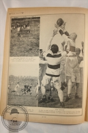 La Bibliotheque Très Sport, 1920s Magazine Supplement - Football Rugby - Old Pictures - 20 Pages - Libros, Revistas, Cómics