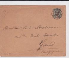 1890 -  SAGE - ENVELOPPE ENTIER De PARIS Pour GAND (BELGIQUE) - Buste Postali E Su Commissione Privata TSC (ante 1995)
