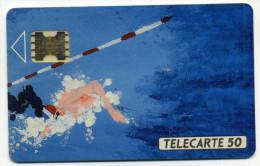 Télécarte 50 Unites Sarcelles Champ De France De Natation Handisport N° De Lot  2220 Impac (lot 29) - Unclassified