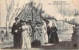 87 - En Limousin - Une Noce, Scène Du Centre - France
