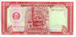 CAMBODGE  50 Riels  Emission De 1979   Pick 32 A          ***** BILLET  NEUF ***** - Cambodia