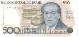 BRESIL   500 Cruzados  Non Daté (1987)   Pick 212 C  Signature 25         ***** BILLET  NEUF ***** - Brésil