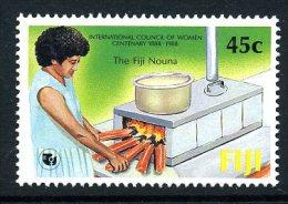 Fiji 1988 Council Of Women, MNH (A) - Fiji (1970-...)