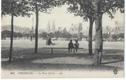 Cherbourg/ La Place Divette/ Levy Fils & Cie/Paris / 1917   CPDIV94 - Cherbourg