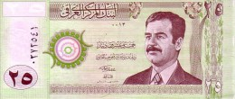 IRAQ  25 Dinars  Emission De 2001    Pick 86           ***** BILLET  NEUF ***** - Iraq