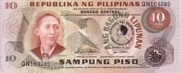 PHILIPPINES   10 Piso  Daté De 1981   Pick 167 A          ***** BILLET  NEUF ***** - Philippines
