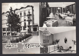 ITALY - Rimini - Hotel Montreal, Year 1963, Damage In The Lower Part - Rimini