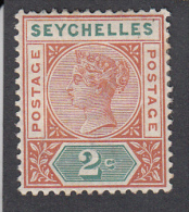 Seychelles 1897 2c  SG28   MH - Seychelles (...-1976)