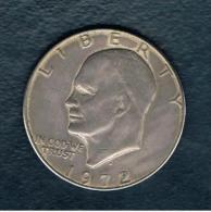 USA - 1 Dolar  Eisenhower 1972D - Emissioni Federali