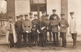 Soldatengruppe, Pickelhaube - Personen