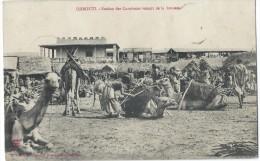 Djibouti / Station Des Caravanes Venant De La Brousse / 1908  CPDIV104 - Djibouti