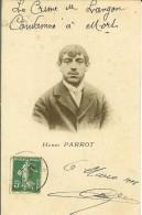 CPA  LANGON, Henri PARROT, Le Garçon De Salle Du Café De La Gare  9523 - Langon