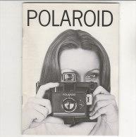 C1417 - LIBRETTO ISTRUZIONI MACCHINA FOTOGRAFICA POLAROID Anni '60 - Macchine Fotografiche