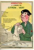 SERIE MILITAIRES - Humoristiques