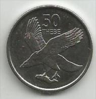 Botswana 50 Thebe 2013. UNC - Botswana